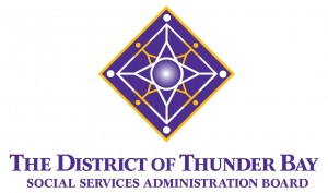 The District of Thunder Bay Social Services Administration Board logo